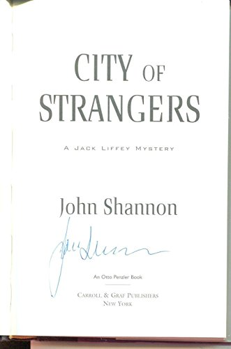 John Shannon Autograph Author Detective Fiction/Jacj Liffey Theme Signed Book - NFL Autographed Miscellaneous Items