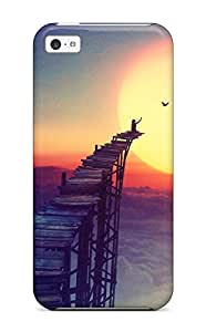 New Fashion Premium Tpu Case Cover For Iphone 5c - To The Sun