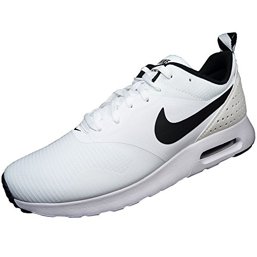 NIKE Herren- Sneaker AIR MAX TAVAS WHITE/BLACK-WHITE 102
