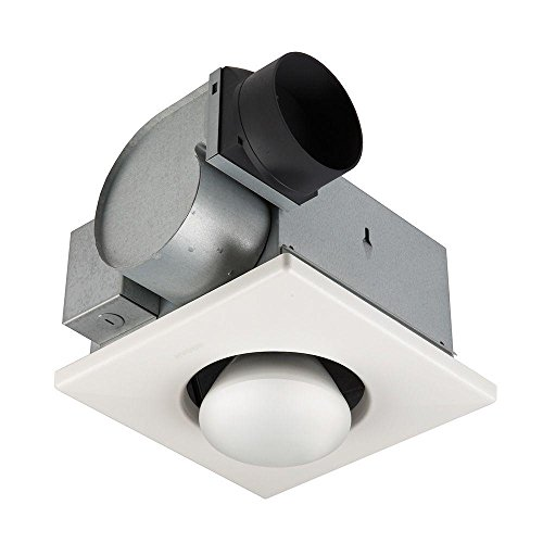 Broan 162 Type IC Infrared Single-Bulb Ceiling Heater with F