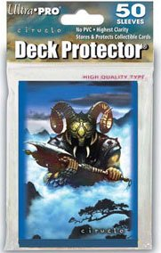 Ultra Pro Black Wizard Deck Protector, 50 Count