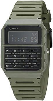 Casio Data Bank - Reloj De Cuarzo Con Correa De Resina