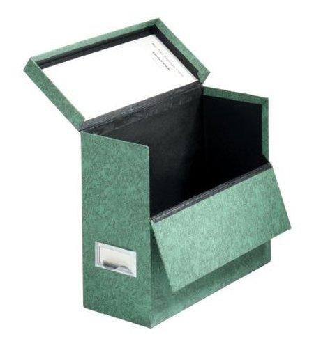 Letter Fiberboard - Globe-Weis/Pendaflex Fiberboard Transfer Case, Letter Size, Drop Front, Green (591 GRE)