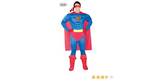 Guirca 80764 - Superheroe Adulto Talla L 52-54: Amazon.es ...
