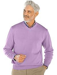 "<span class=""a-offscreen"">[Sponsored]</span>Men's Pima Cotton V-Neck Sweater"