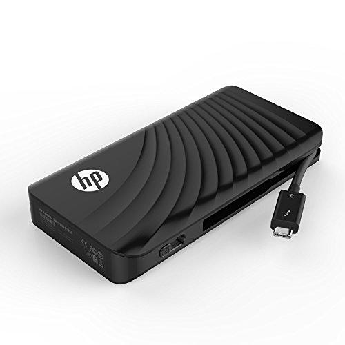 (HP P800 512GB Portable External Thunderbolt 3 PCIe NVMe SSD 3SS20AA#ABC)