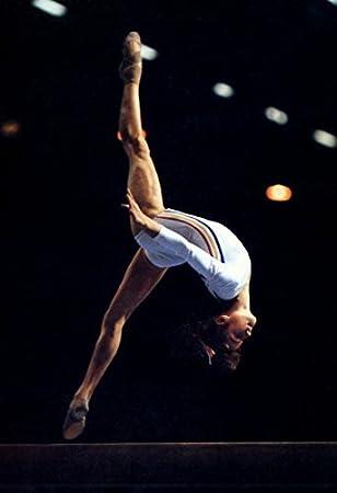 nadia comaneci poster romanian gymnast olympic gold gymnastics