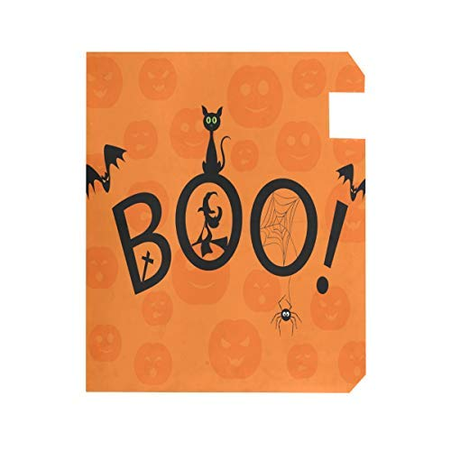 Tollyee Mailbox Covers and Wraps Magnetic Mail Box Cover Vinyl Custom Home Garden Decor Happy Halloween Boo Orange Magnetic Mailbox Cover 9