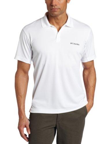 Columbia Men's Big & Tall New Utilizer Polo, White, 2X/Tall