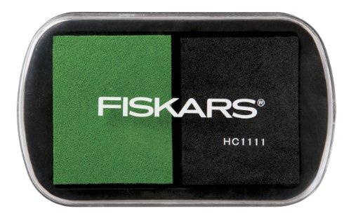 - Fiskars 103200-1002 Kids Ink Pads, Black/Green