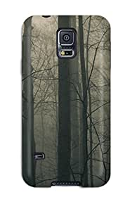AnnDavidson Galaxy S5 Well-designed Hard Case Cover Creepy And Foggy Forest Protector