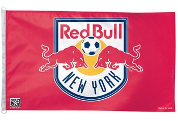 New York Red Bull - 3' x 5' Polyester MLS Flag