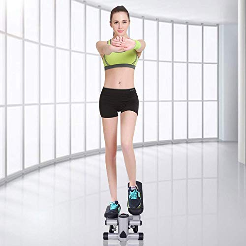 Goplus Mini Stepper Air Climber Step Fitness Exercise Machine with Resistance Band and LCD Display by Goplus (Image #2)
