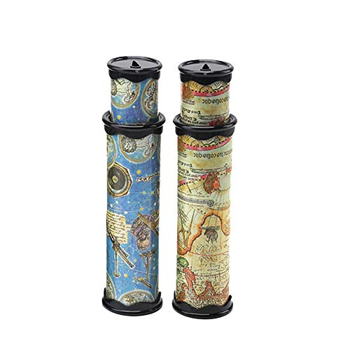 Szsrcywd 2PCS Classic World Kaleidoscope, Magic Kaleidoscope,Best Birthday Gift for Children