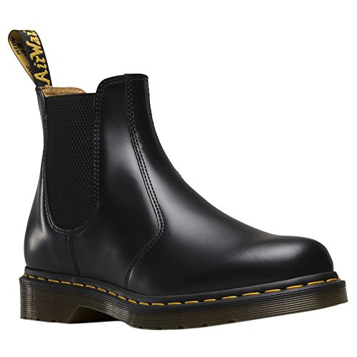 Eu Black Boots 40 martens Leather 2976 Dr Womens HW87wxxB