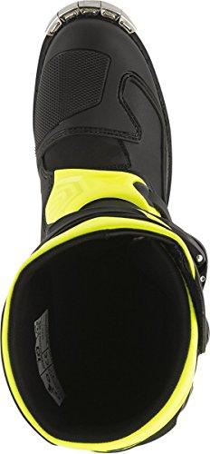 Alpinestars Mens Tech 1 Boot (Black/Yellow, 15) by Alpinestars (Image #6)