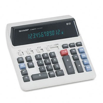 SHRQS2122H - Sharp QS-2122H Compact Desktop Calculator