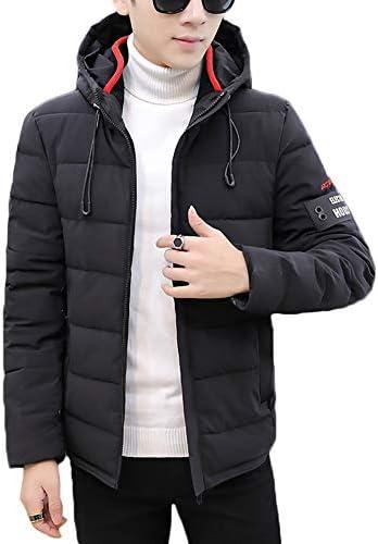 中綿ジャケット メンズ ダウンコート 中綿ブルゾン 秋冬 軽量 中綿コート カジュアル 冬服 アウター ファッション フード付き FULINE