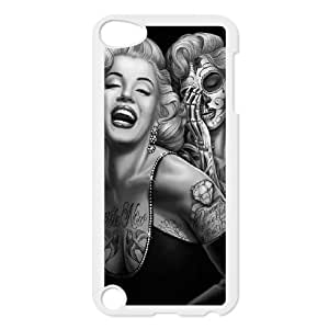 C-Y-F- Skull Marilyn Monroe Phone Case For Ipod Touch 5 [Pattern-1]