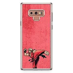 Loud Universe Ken Fiigure Action Samsung Note 9 Case Street Fighter Ken Samsung Note 9 Cover with Transparent Edges
