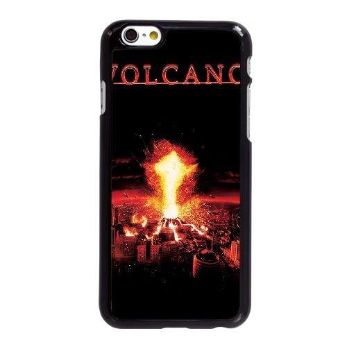 D0D49 Volcano High Résolution Affiche F9Q5GI coque iPhone 6 4.7 pouces cas de téléphone portable couverture de coque noire KL7TRE4SO