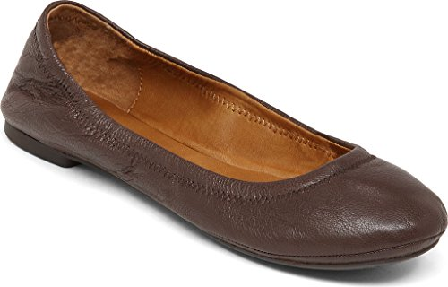 Lucky Mujeres Emmie Ballet Flat Tabaco