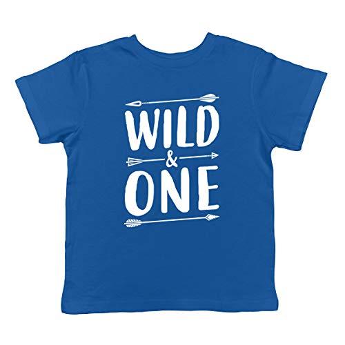 SpiritForged Apparel Wild & One Infant T-Shirt, Royal 18 Months