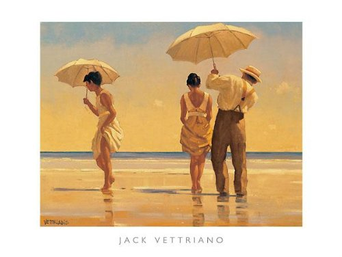 Jack Vettriano - Mad Dogs 31.5 x 23.5 for sale  Delivered anywhere in Canada