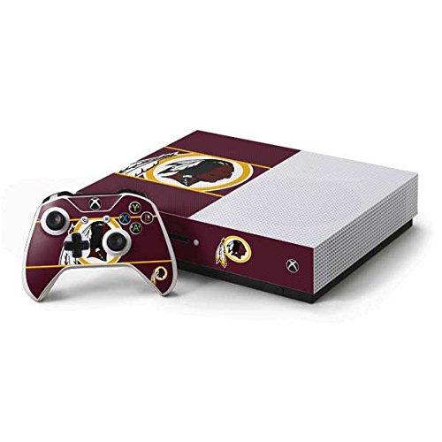 Xbox Controller Redskins Washington - Skinit NFL Washington Redskins Xbox One S Console and Controller Bundle Skin - Washington Redskins Zone Block Design - Ultra Thin, Lightweight Vinyl Decal Protection