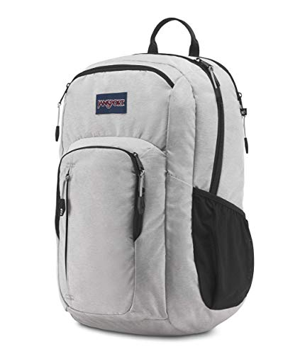 Recruit Bolsas Polyester 100 Gray Jansport Heathered Pack Back Hombres adY7Ox7