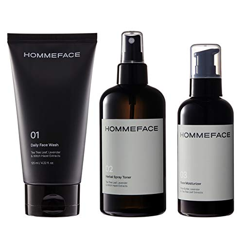 Daily Trio Skin Care Set for Men, 3-Step Routine