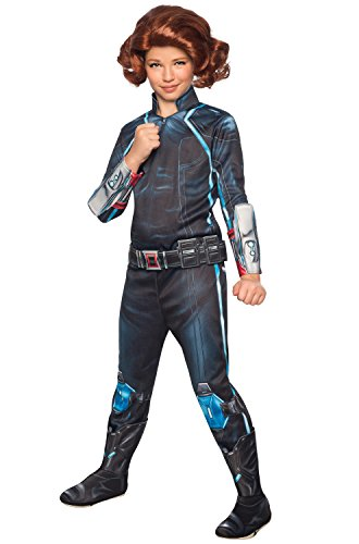 Rubie's Costume Avengers 2 Age of Ultron Child's Deluxe Black Widow Costume, Large
