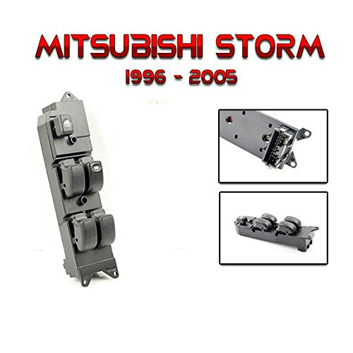 1 x New Power Window Switch Main Control For Mitsubishi L200 Storm Strada RHD 96-04