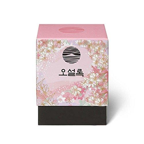 Osulloc Olle Road Full of Cherry Blossom Blended Organic Green Tea Pyramid 18g Cherry Blossom Flavor (1.8g x ()
