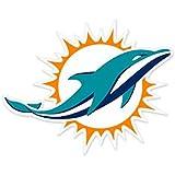 Amazon.com : NFL Miami Dolphins Chrome Automobile Emblem : Sports ...