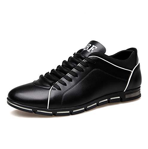 ginnastica tacco Cachi 40 EU Dimensione con larghe Colore da Nero da comode uomo girocollo Scarpe alto ZHRUI Ewq8Ap