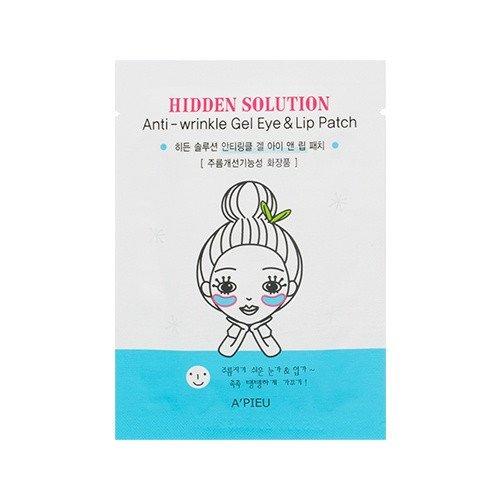 [A'PIEU] Hidden Solution Anti Wrinkle Gel Eye&Lip Patch