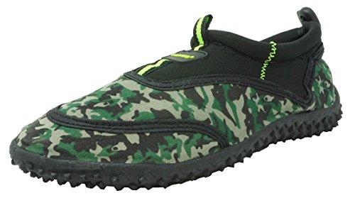 - Fresko Kids Camo Water Shoes for Boys, B1337, Black, 11 M US Little Kid