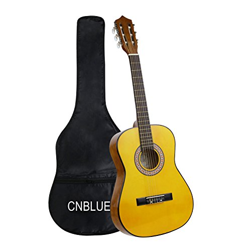 Classical Guitar Acoustic Guitar Kids 3/4 Size 36 inch Nylon Strings Guitar Starter Kits for Beginners Students for $<!--$79.99-->