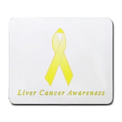 Amazon com : Liver Cancer Awareness Ribbon Mouse Pad