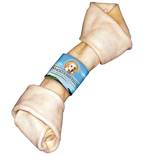 Wholesome Hide Flat Knot Bone 10-11 Inch