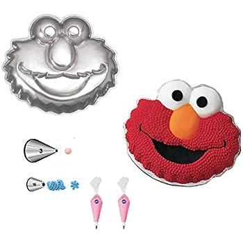 Amazon.com: Wilton 2105-3461 Elmo Face Cake Pan: Novelty