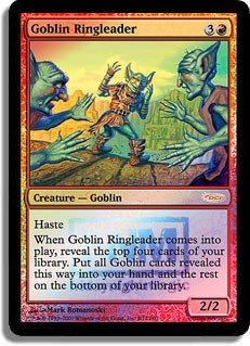 Magic: the Gathering - Goblin Ringleader - FNM 2007 - FNM Promos - Foil