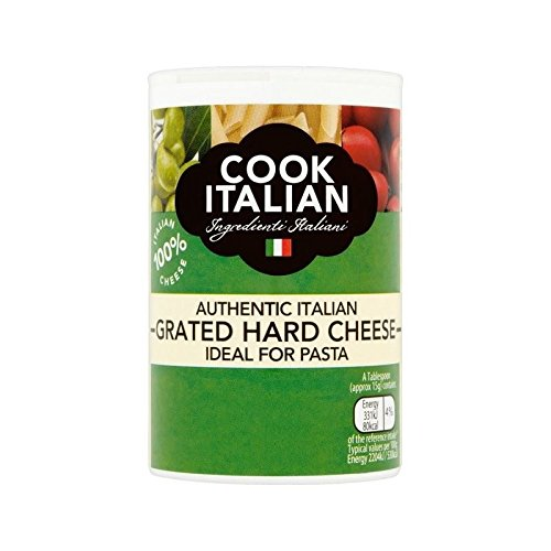 Cook Italian Grated Italian Hard Cheese 50g - Pack of 6 by Cook Italian