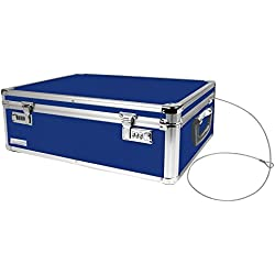 Locking Underbed Storage Chest - Choice of Colors