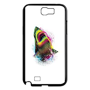 Samsung Galaxy N2 7100 Cell Phone Case Black CMYK SHARK custom phone cover ggjc7231970