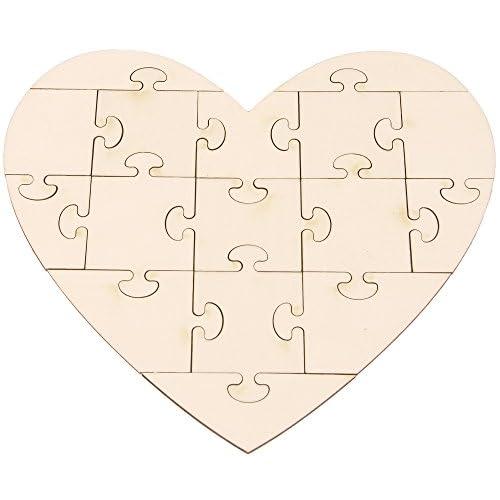85%OFF Puzzle en forma de Corazón, para pintar - sadezfashionhouse.com