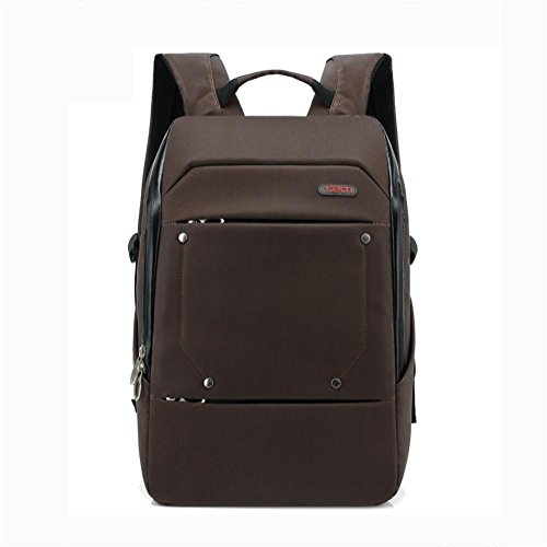 Leisure Daypack Waterproof Backpack Brown Laptop High 15 inches Business Capacity Backpack P1zwXnx