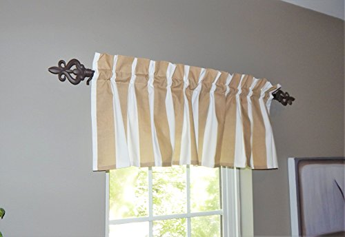 Crabtree Collection Stripe Window Valance