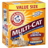Church and Dwight Company 28Lb Multi Cat Litter 2286 Cat Litter/Pan, My Pet Supplies